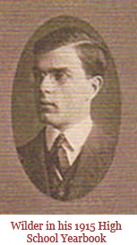 Wilder in 1915 High School Yearbook