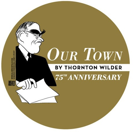 Our Town 75th Anniversary Logo Large