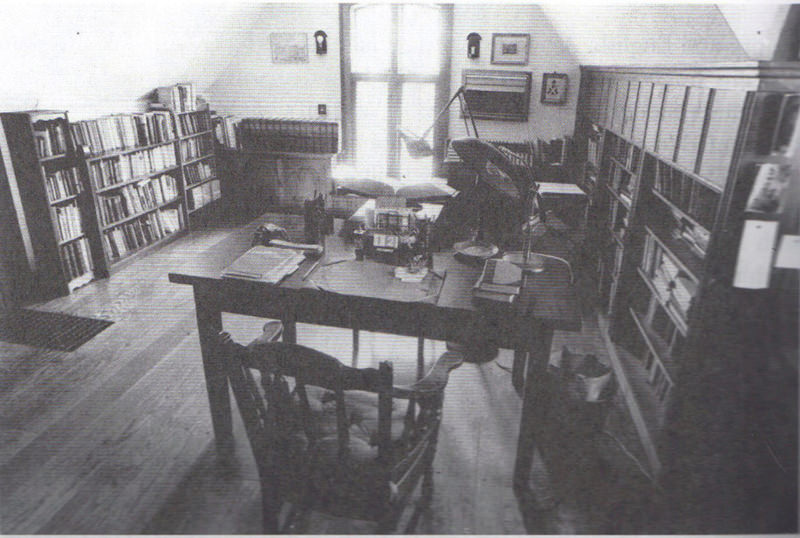 Wilder's Study in Hamden, CT