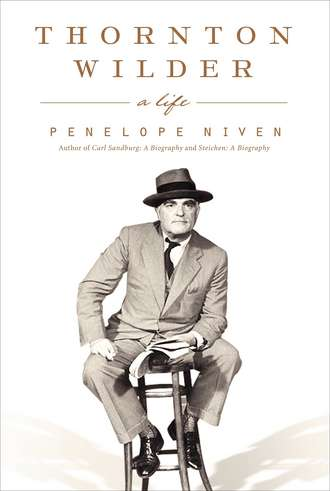 Thornton Wilder A Life Cover
