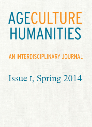 Age Culture Humanities Journal Cover Spring 2014