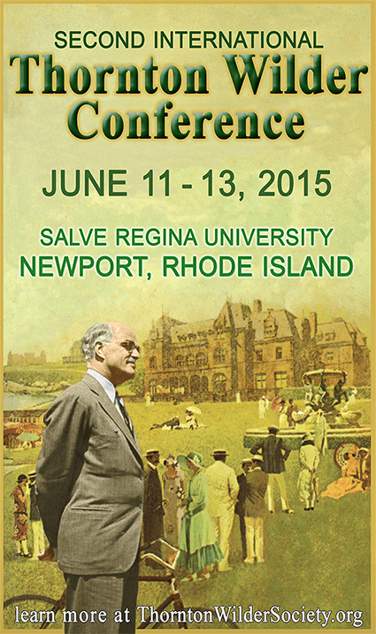 Second International Thornton Wilder Conference Poster