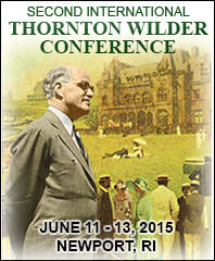 Second International Thornton Wilder Conference Featured Content Logo