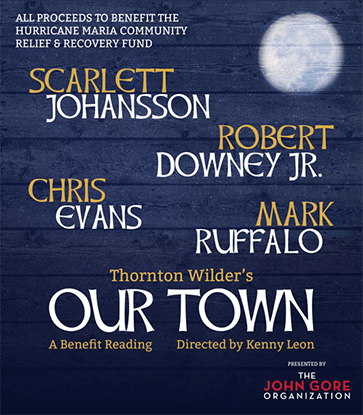 Marvel Our Town Cast Poster